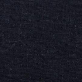 Linen Fabric Sample Terra Navy