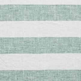 Aqua Foam Linen Fabric Philippe Washed