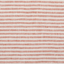 Brick Linen Fabric Sample Brittany