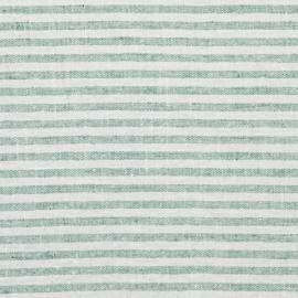 Aqua Foam Linen Fabric Brittany