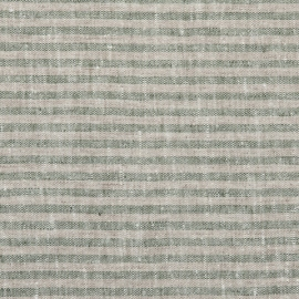 Forest Green Natural Linen Fabric Brittany Prewashed