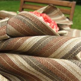 Aria Napkins Brown Stripes