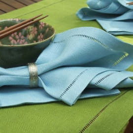 Emil Rainforest Green and Sky Blue Collection