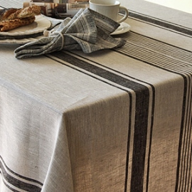 Provence Tablecloth Black