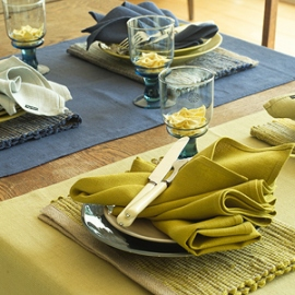 Lara Runners, Placemats & Napkins Collection