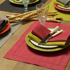 Collection of Emilia Napkins & Placemats