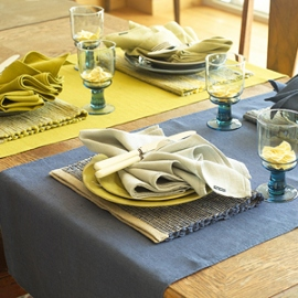 Lara Placemats, Runners & Napkins Collection