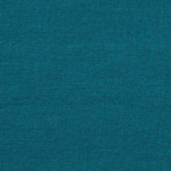 Marine Blue Linen Fabric Sample Stone Washed Linenme