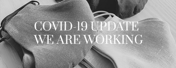 COVID-19 UPDATE. WE ARE WORKING