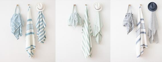 LINEN BEACH TOWELS