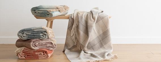 WoolMe - Decken und Plaids