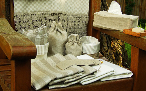 Huckaback Towel LinenMe
