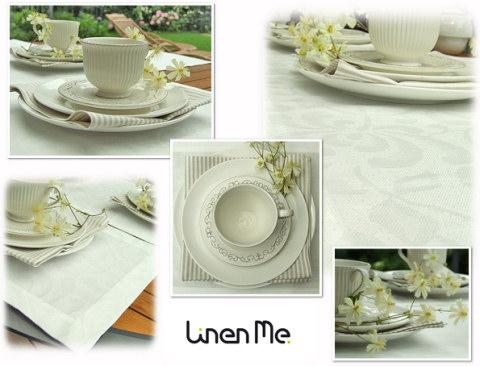 Chrysantemum white linen