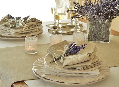 rhomb wheat linen - LinenMe