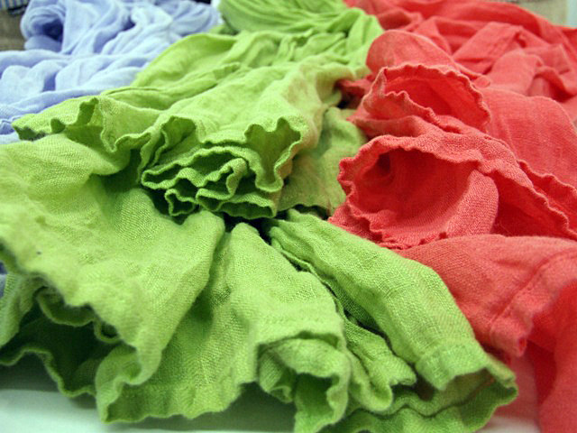 Garza linen scarves