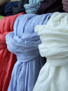 Linen Scarves - Mother's Day Gifts