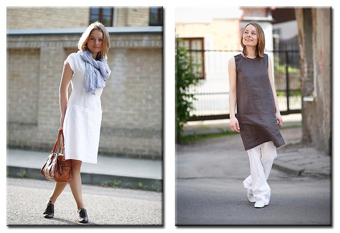 linen dress emma