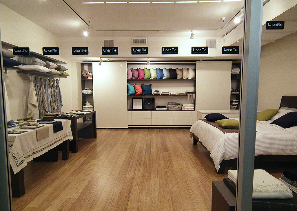Linenme Launches A Showroom In The World Biggest Design Center In