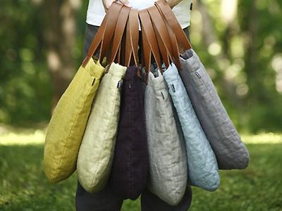 Linen Bags 6 Colors