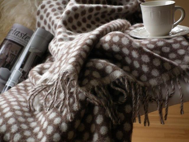 An Exclusive Christmas Sale Of Super Gorgeous Wool Throws
