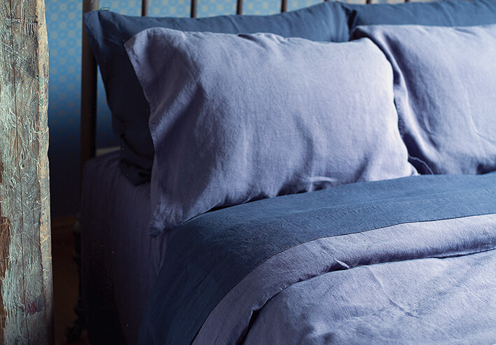 stone washed bed linen - LinenMe