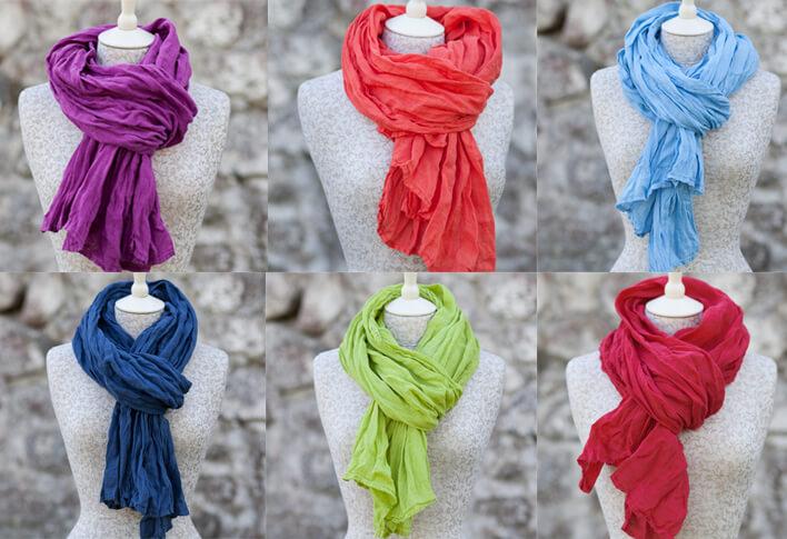 linen scarves - LinenMe