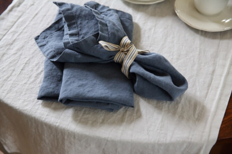 Stone Washed Napkins   LinenMe