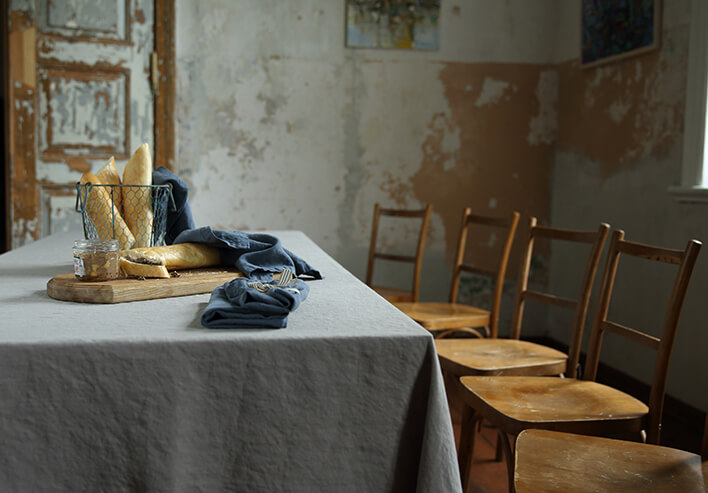 LinenMe Stonewashed Table linen