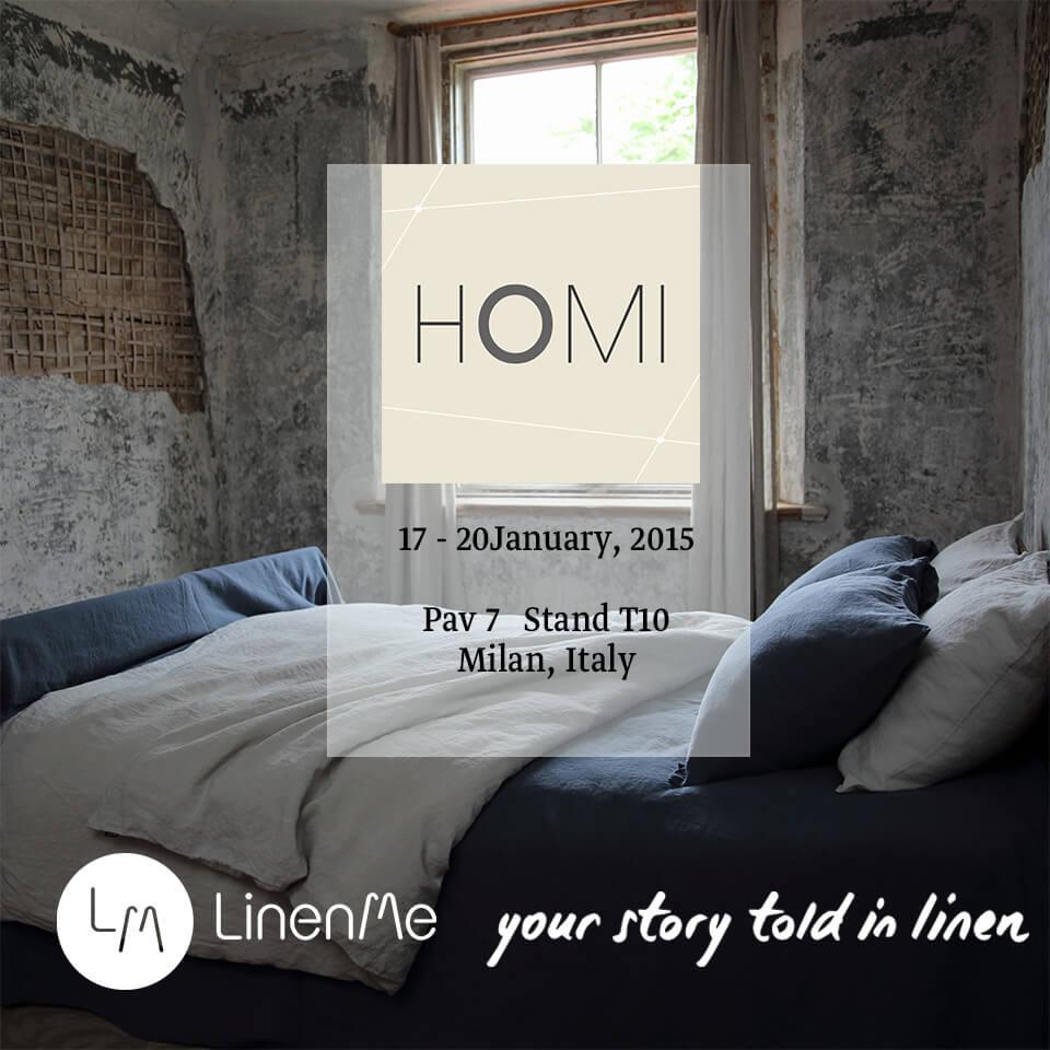 LinenMe HOMI 2015 Milan