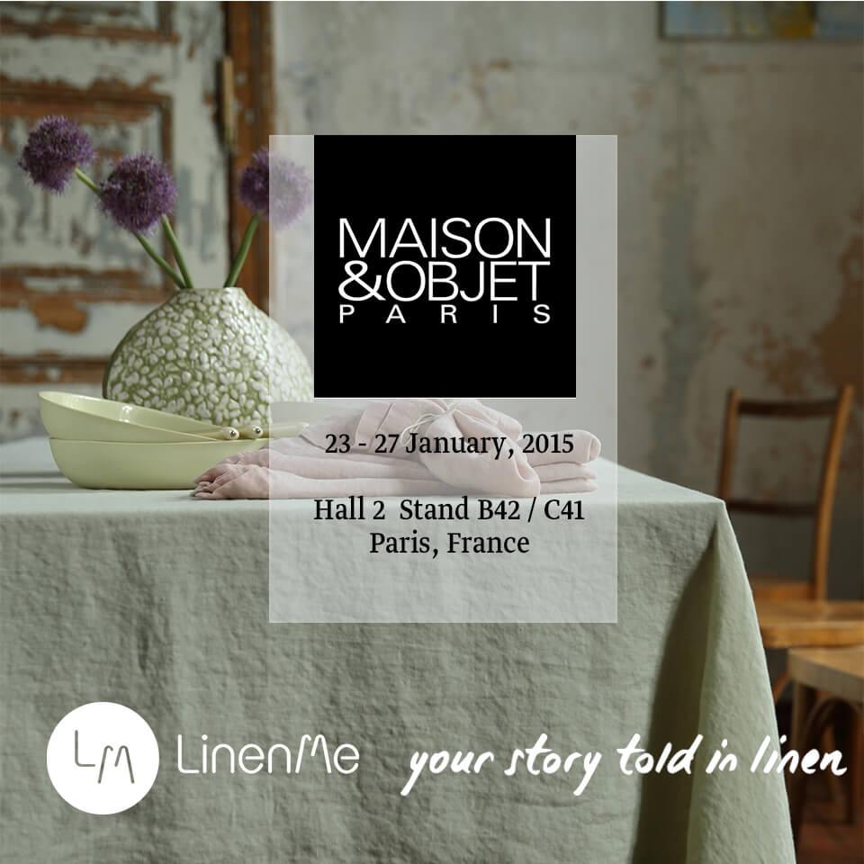 LinenMe M&O 2015 Paris