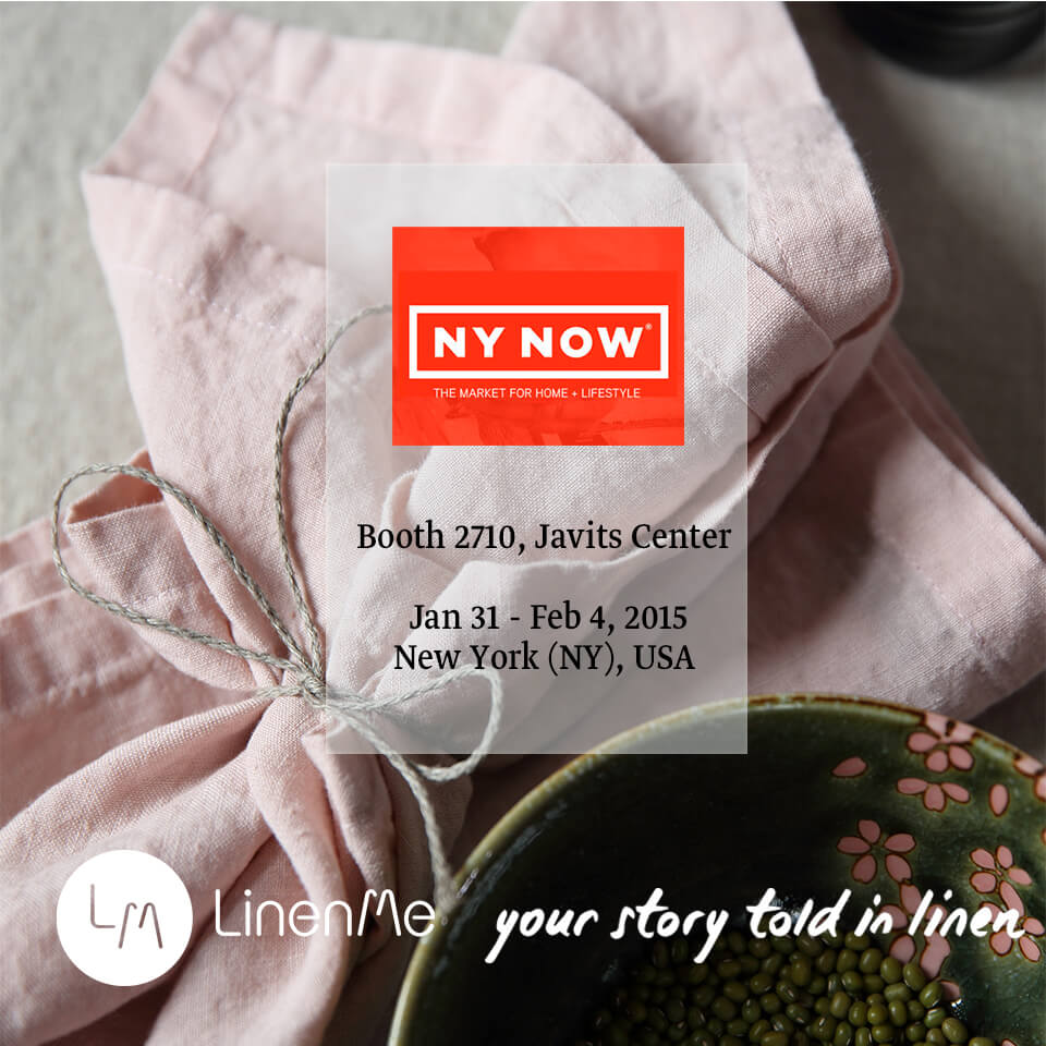 LinenMe NYNOW 2015 New York