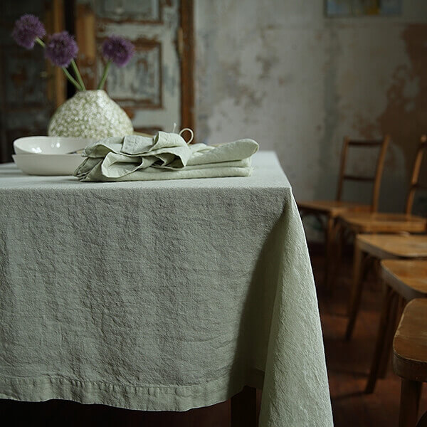 Linen Tablecloth - Iron or not