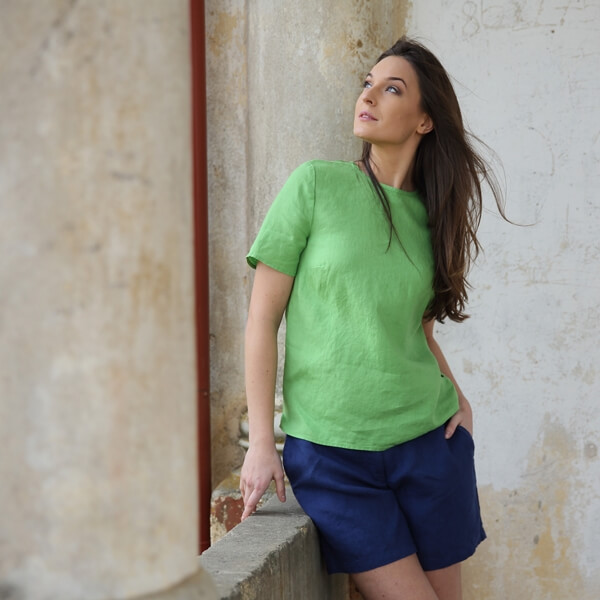 Linen Shorts - LinenMe