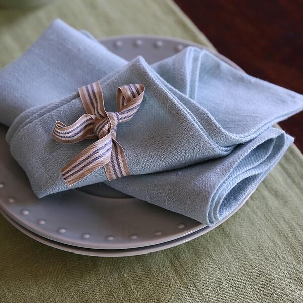 Linen Napkins for Easter Table