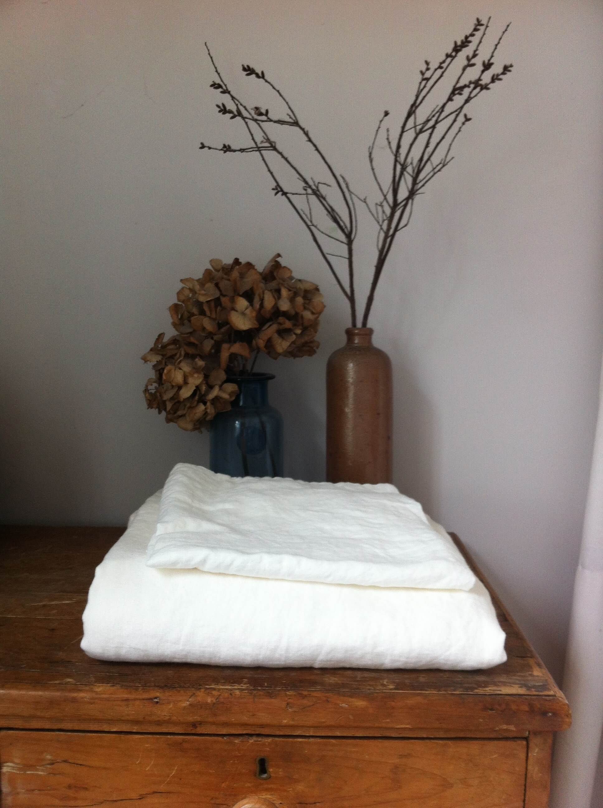 linen fitted sheets