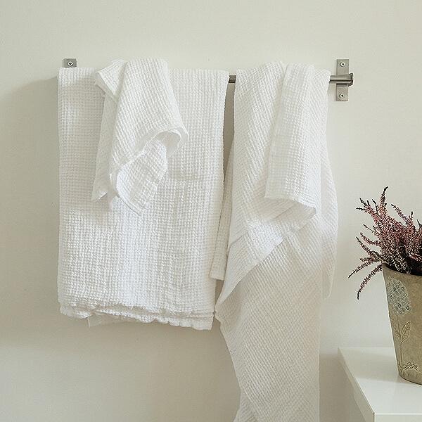 Linen Towels - Home Spa