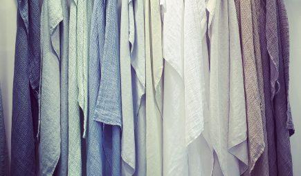linen waffle towels