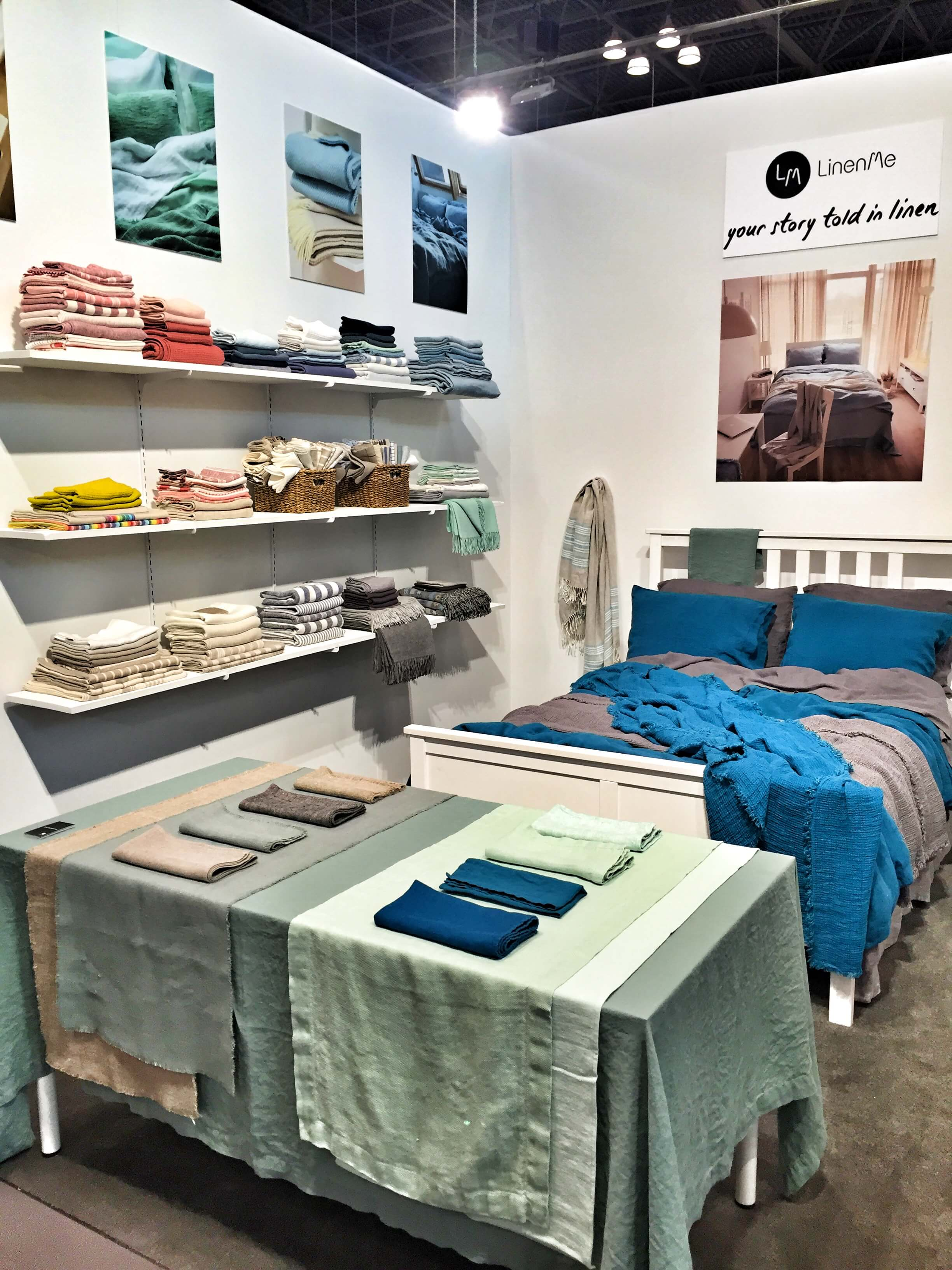 LinenMe NYNOW Best Linen