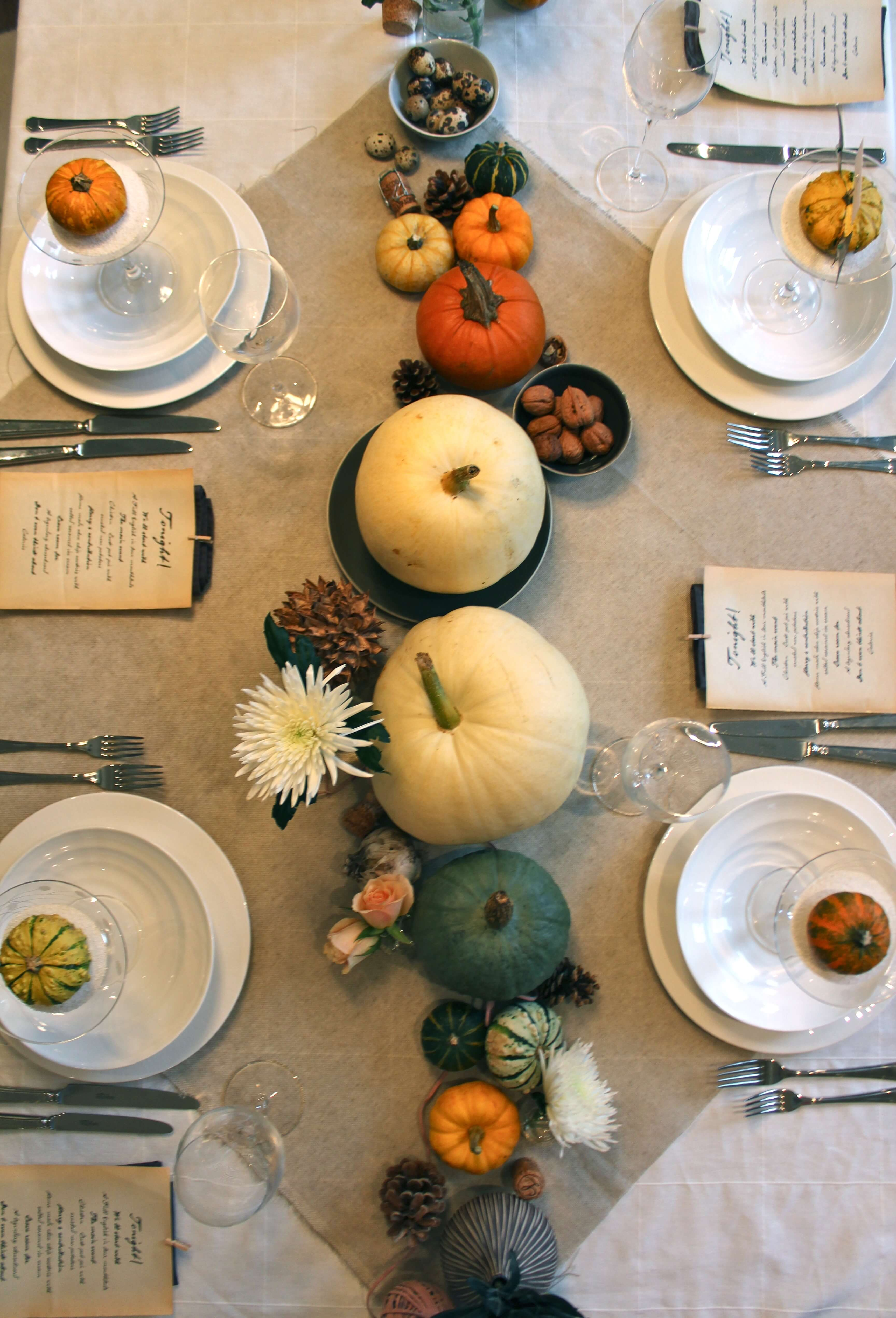 Fall Table Scapes 5 Easy Ways To Create A Stunning Fall Tablescape Linenbeauty