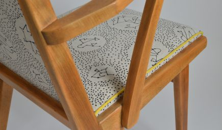detail-mid-century-chair-upholstery-linen