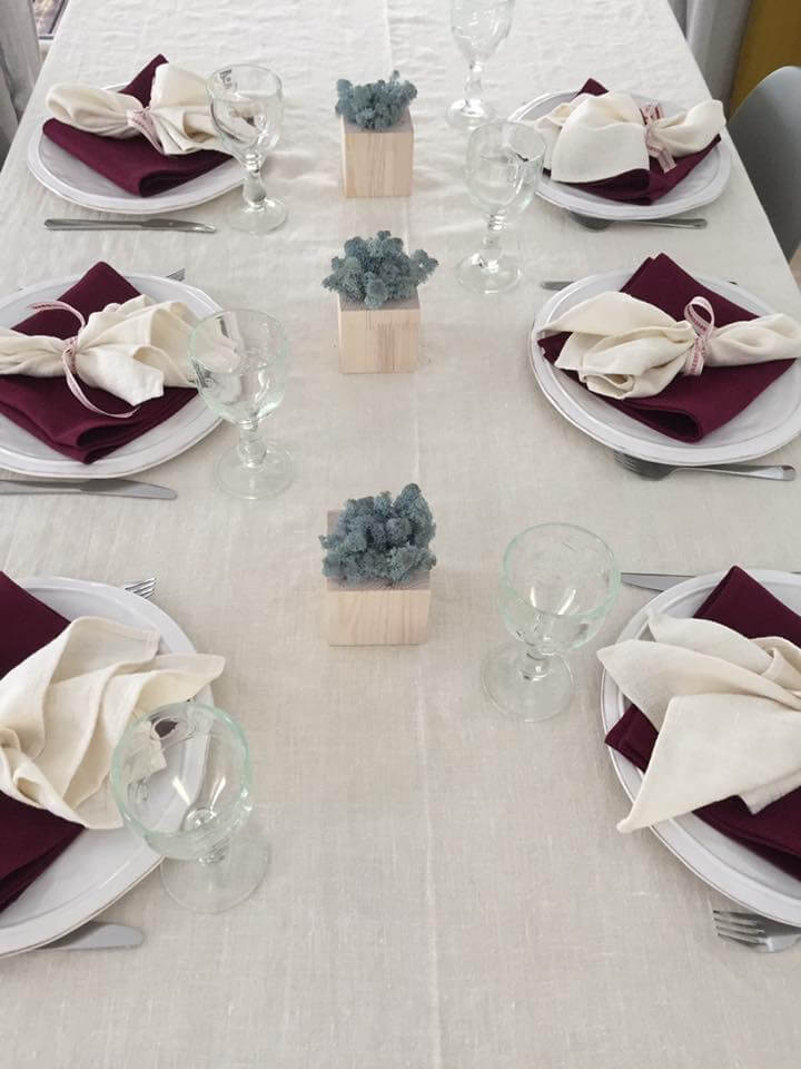 Christmas Table linens - LinenMe