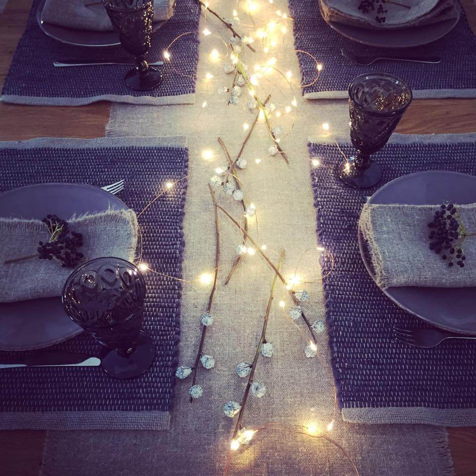 Linen Christmas Table - LinenMe