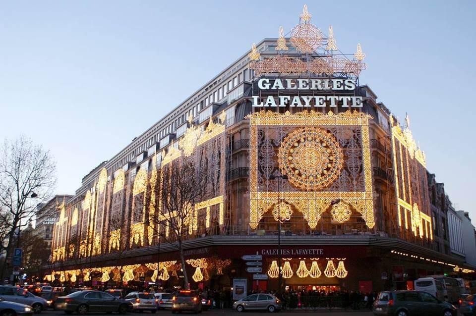 LinenMe in Galeries Lafayette