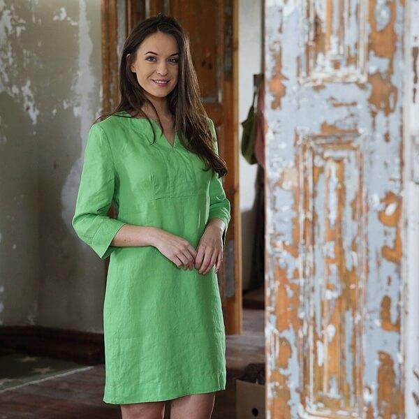 linen dress tunic - LinenMe