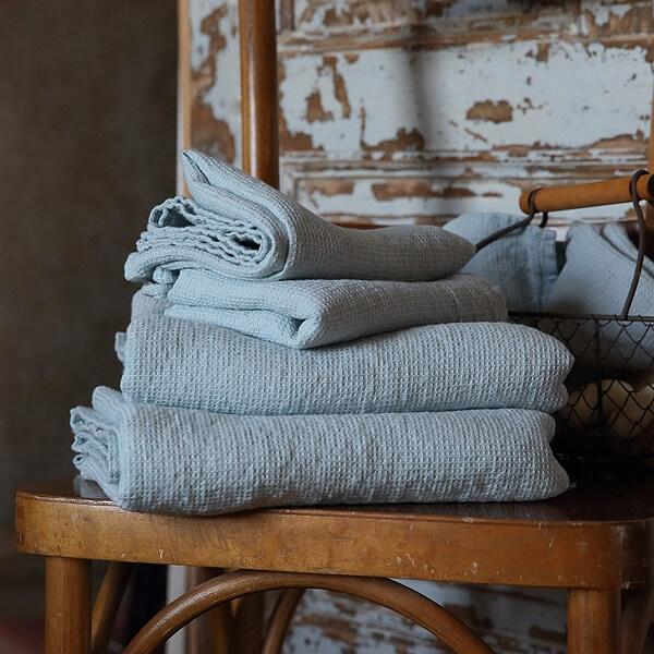 linen waffle towels - wedding gifts