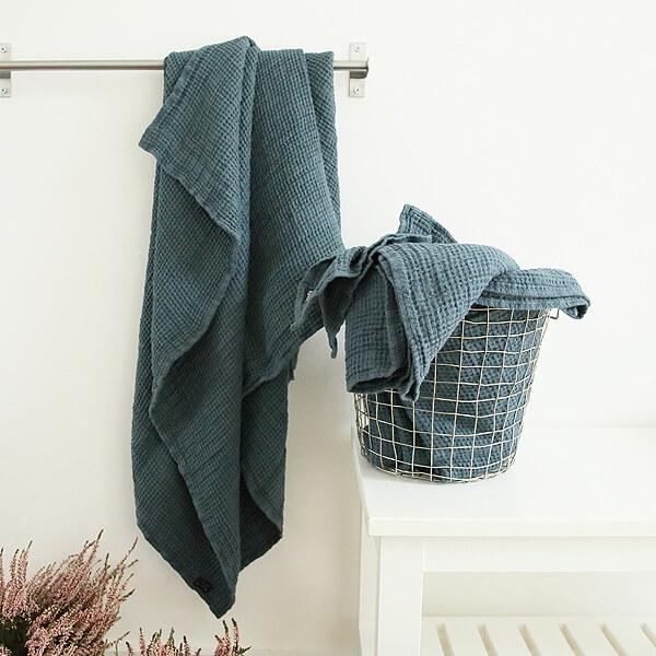 linen huckaback towels - LinenMe
