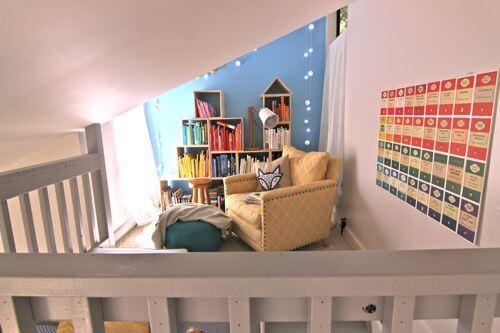 reading loft - reading nook