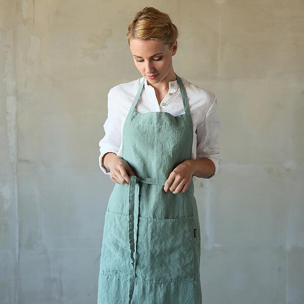 linen bib apron LinenMe