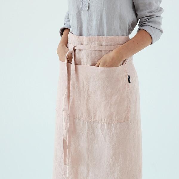 linen chefs apron LinenMe