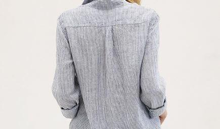 linen button down